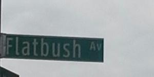 flatbush ave sign